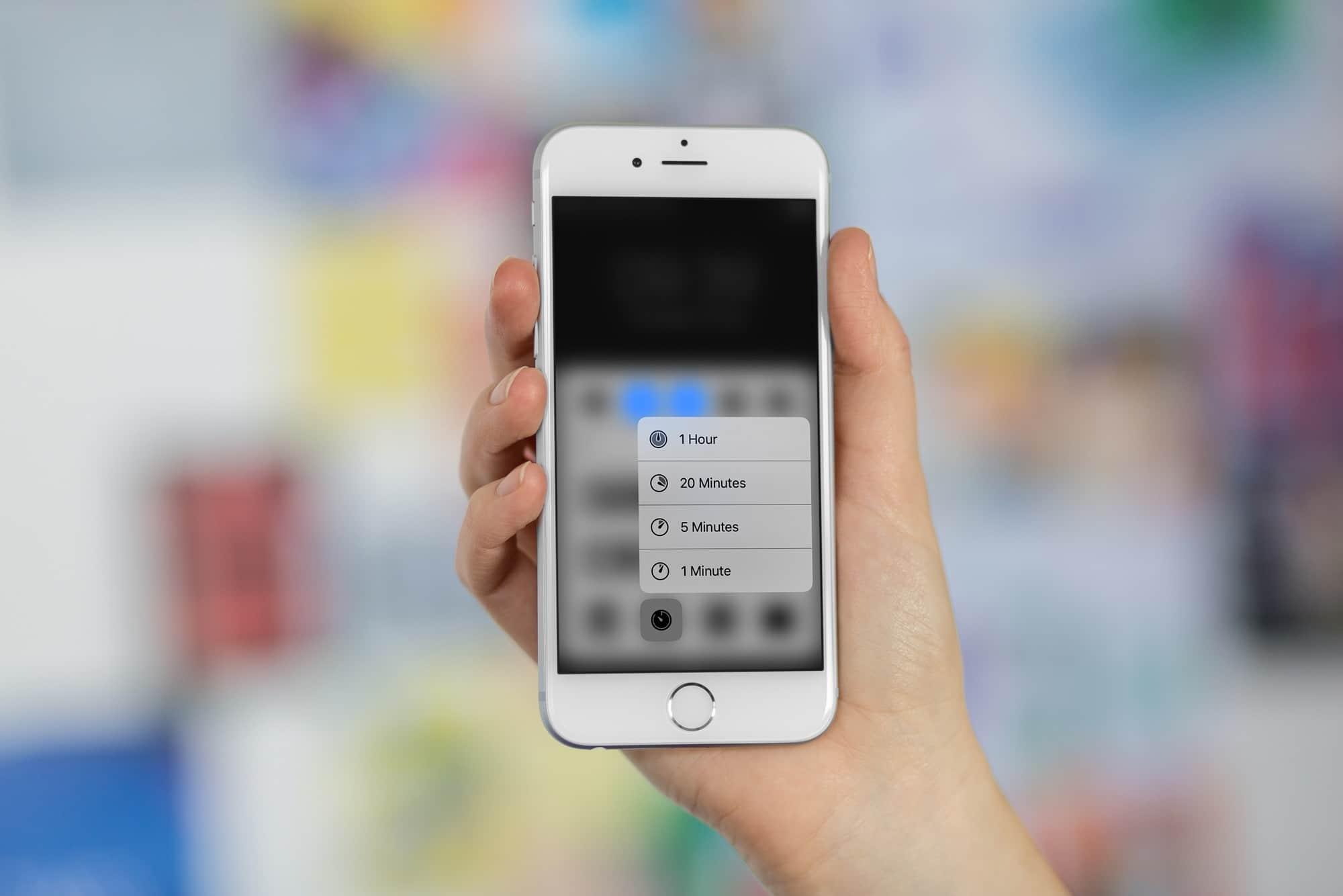 timer iOS 11