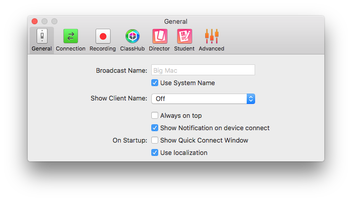 Tweak the settings once and then forget about them.