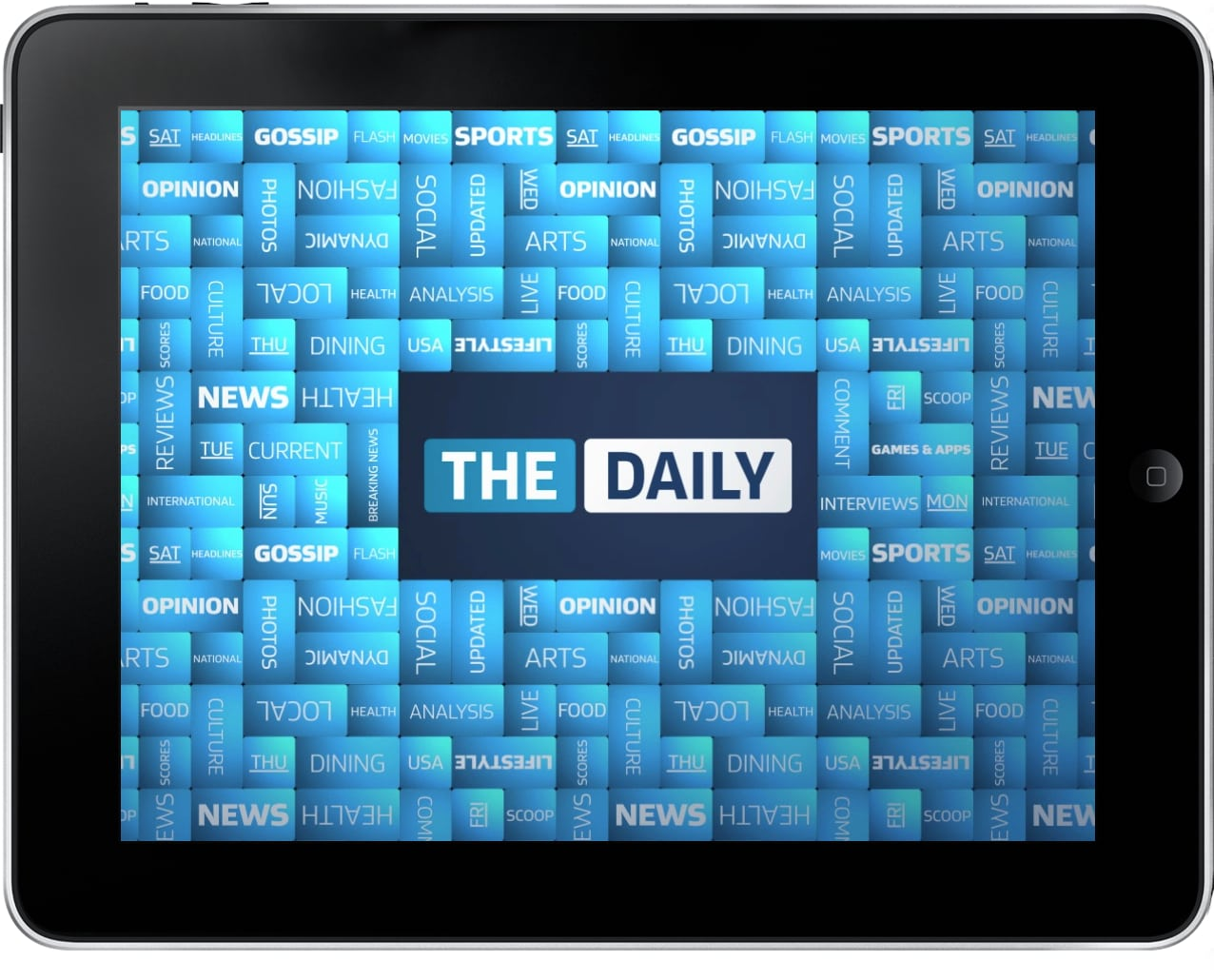 The Daily iPad newspaper