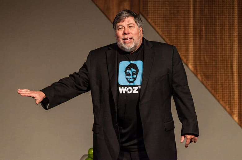 Apple co-founder Steve Wozniak has a growing fascination with cryptocurrency.