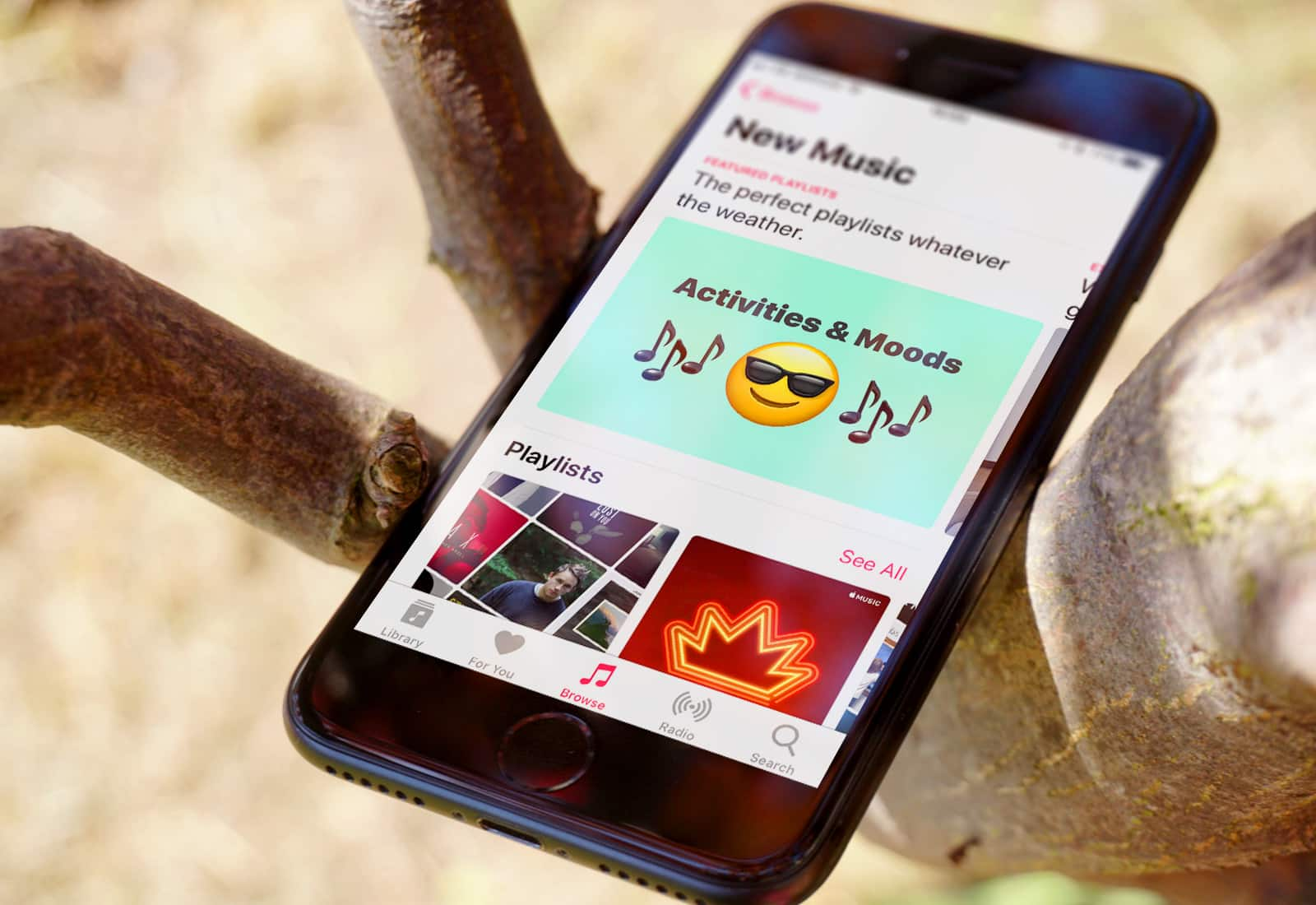 Music Browse iPhone 7
