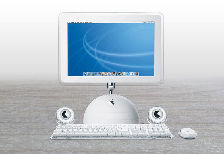 "The iMac G4 brings a ""breathtaking"" giant screen to desktops everywhere."