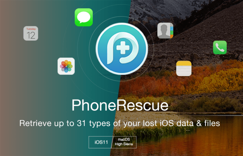 phonerescue pour iphone