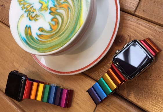 candy colored apple watch band is limited edition review