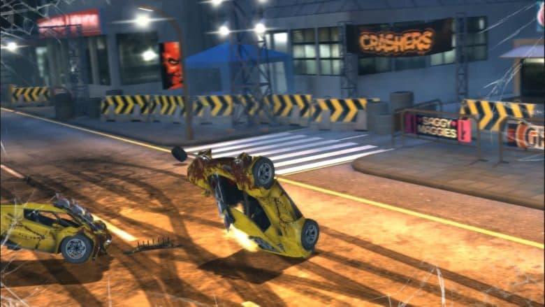 Carmageddon: Crashers drag racing game