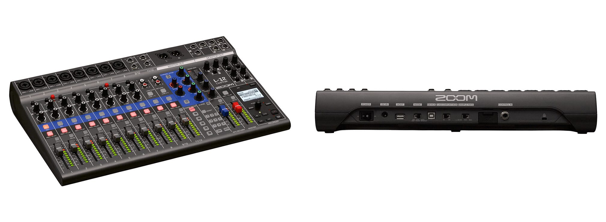 Zoom Livetrak L-12 mixing desk turns your iPad into a music studio