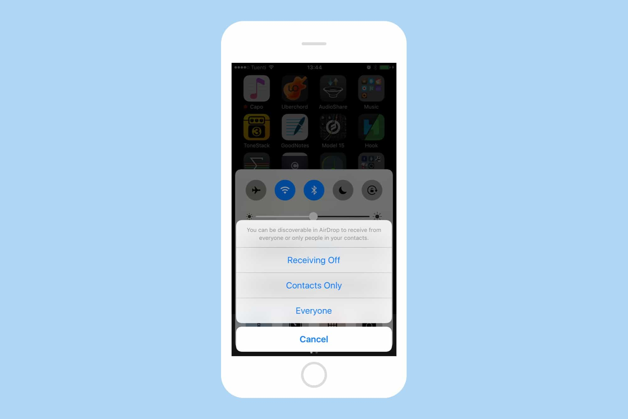 Setting Up Airdrop On Ios 10
