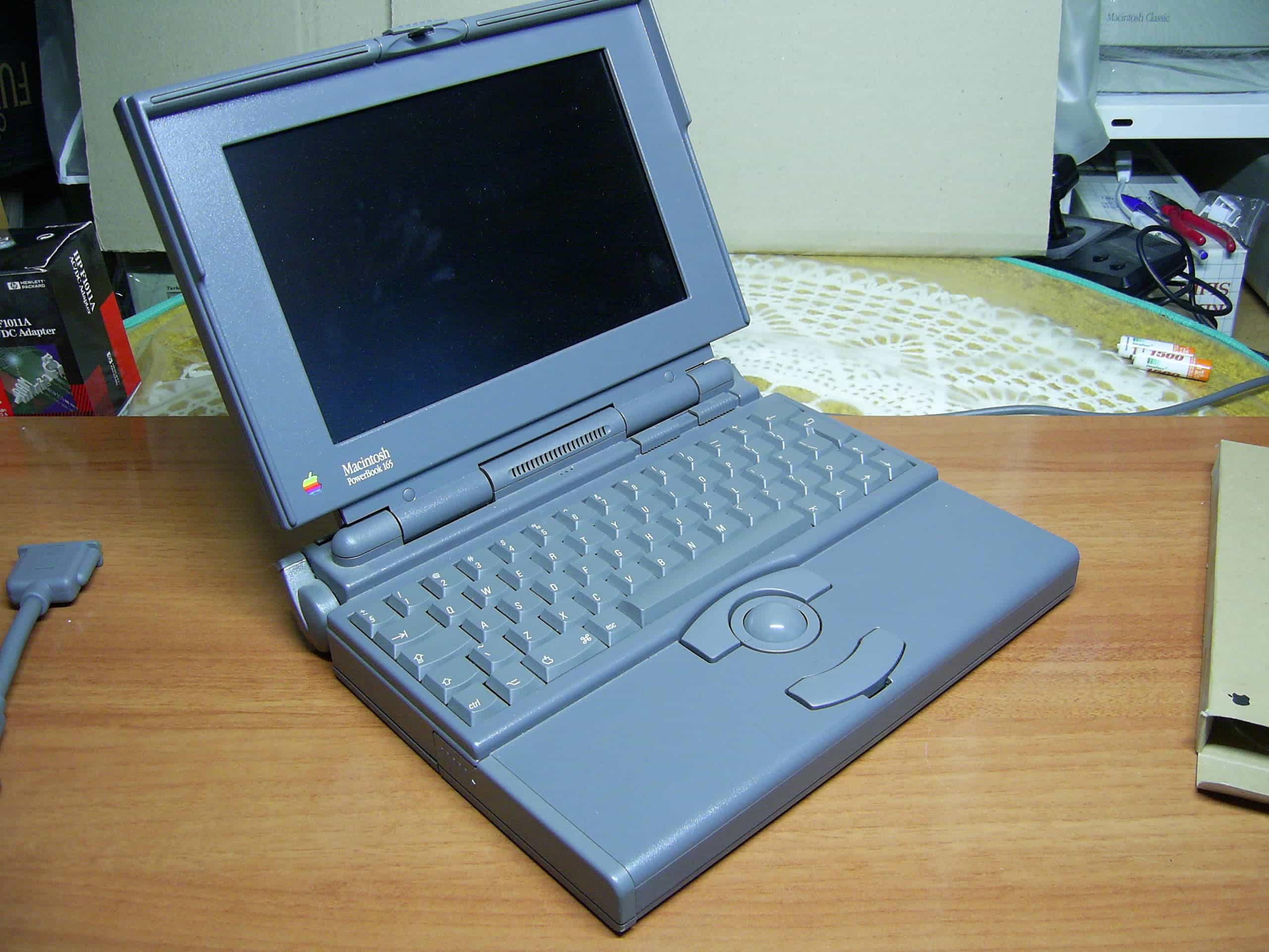 PowerBook 165 was Apple's most affordable laptop.