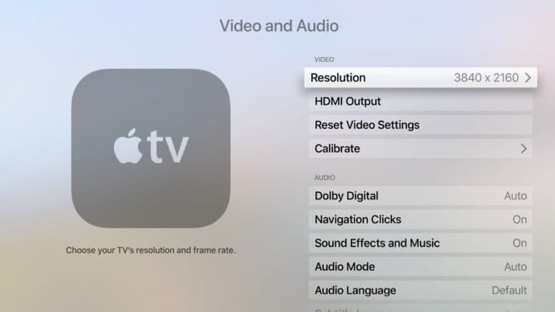 Apple 4K TV