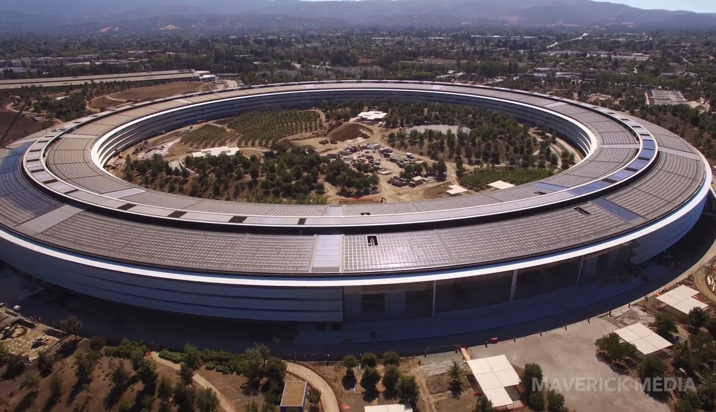 Apple Park Campus Is Almost Crossing The Finish Line