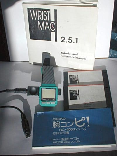 The WristMac was the first Apple watch