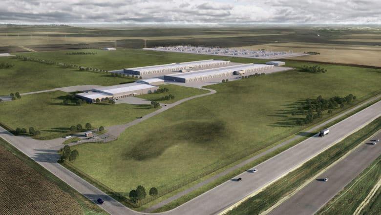 Apple's Iowa data center