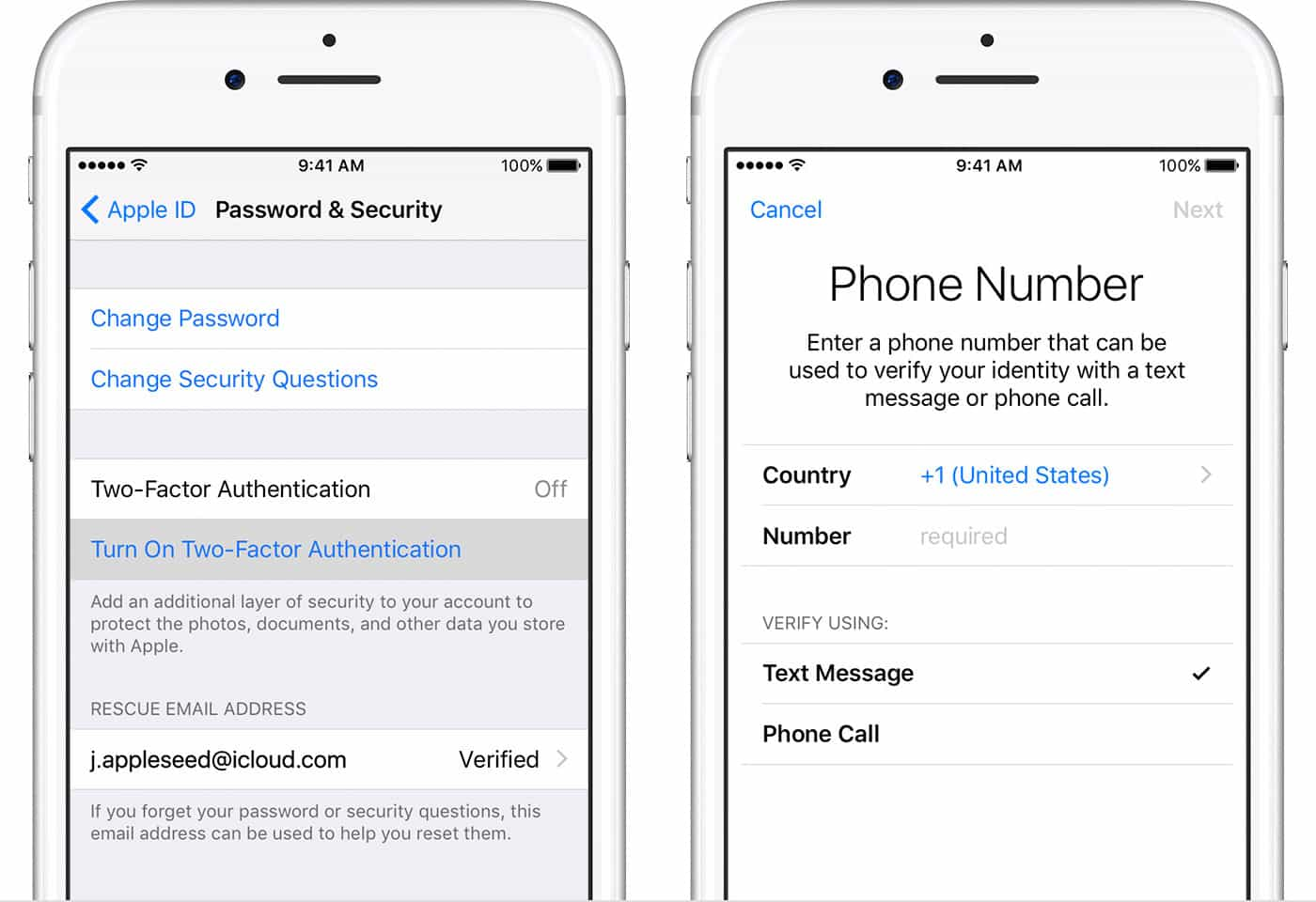 icloud apple id and password hack