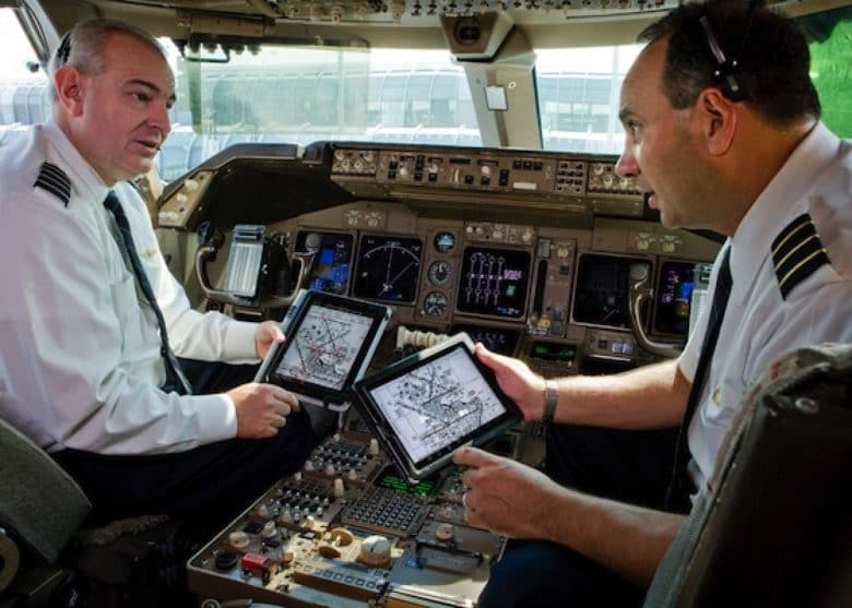 United Airlines iPad