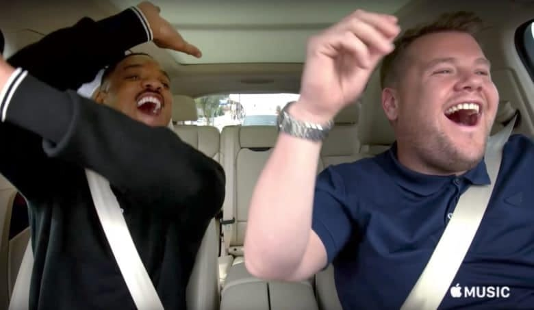 carpool karaoke ad