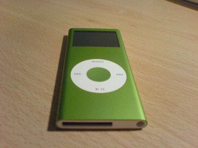 The iPod nano had a big impact on sales of the iPod mini. But Apple didn't care