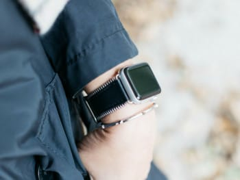 Leather Apple Watch bands by Bezel's and Bytes