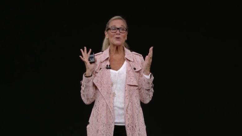 Angela Ahrendts.