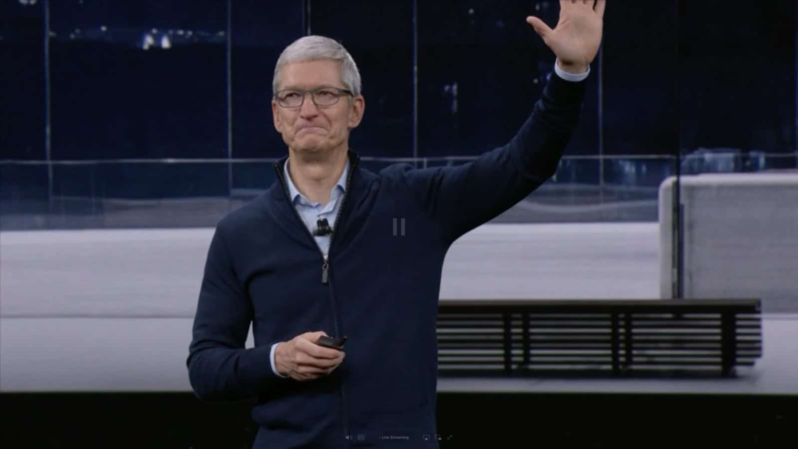 Tim Cook still hid a few surprises up his sleeve for the iPhone X event.