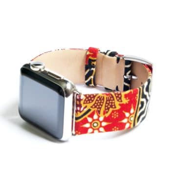 Clessant Batik Band in Red