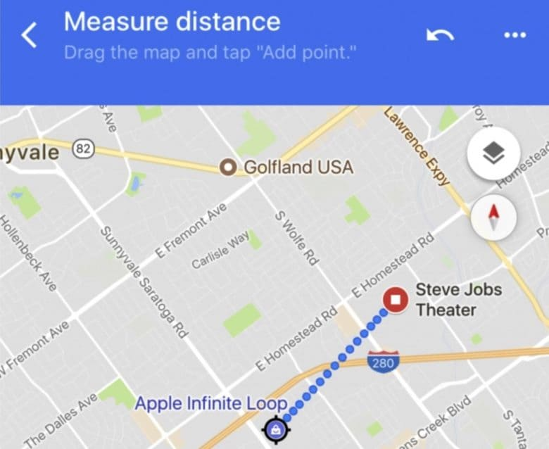 Google Maps distance