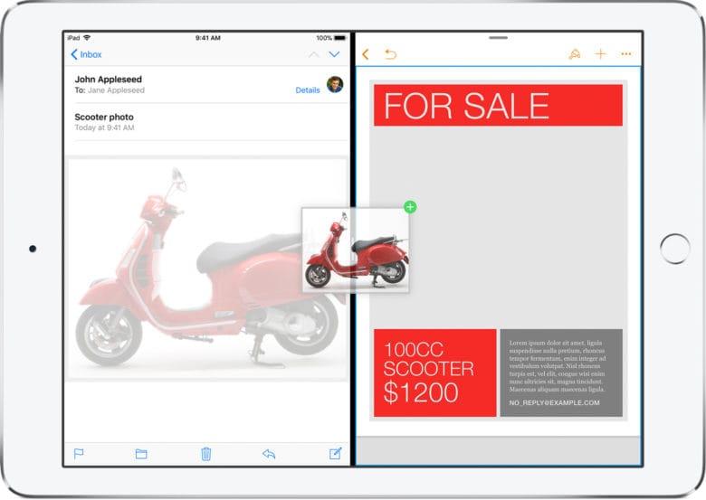 iWork iOS 11