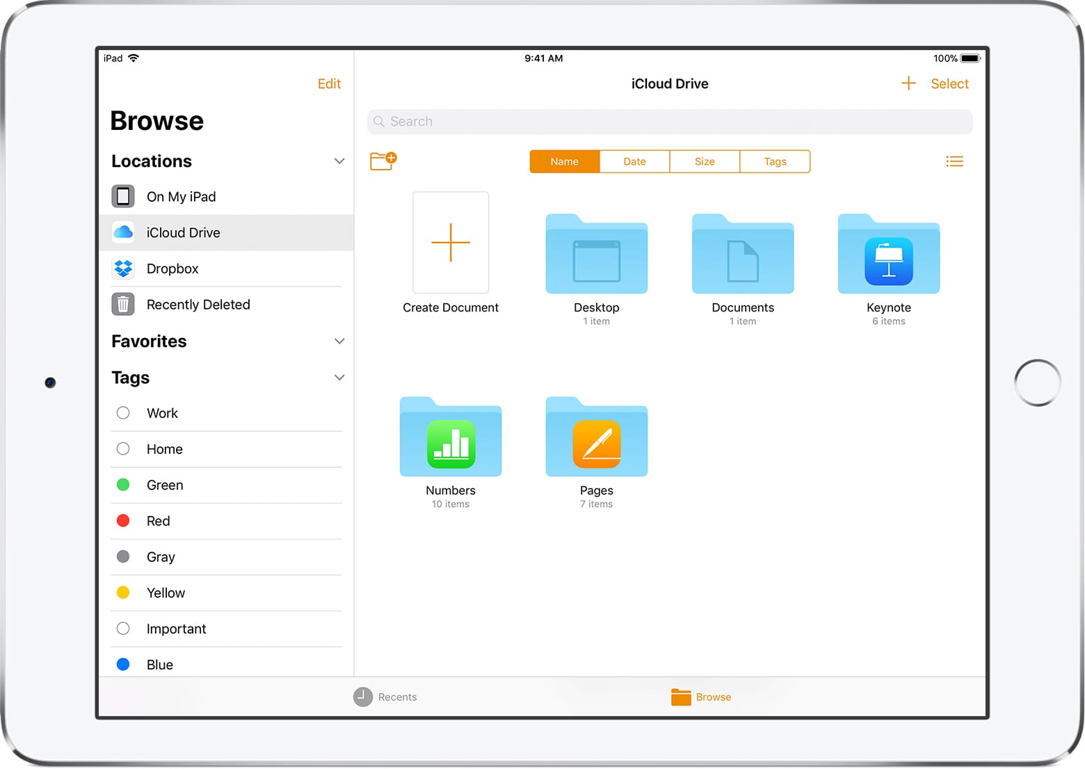 Ipad pages updating documents