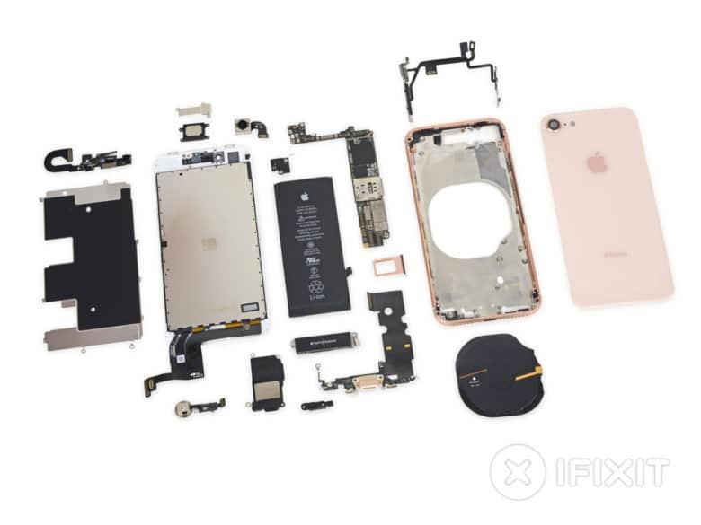 size 40 d92bd 8f0d3 iPhone 8 teardown reveals smaller battery, 2GB of RAM, more | Cult ...