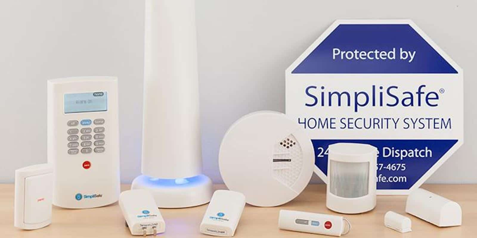 A range of SimpliSafe sensors can tackle all your home security challenges.