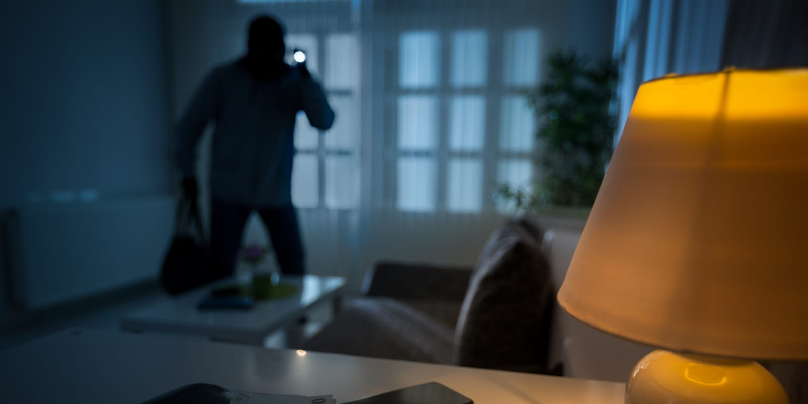 SimpliSafe wants to help keep this guy out of your house.