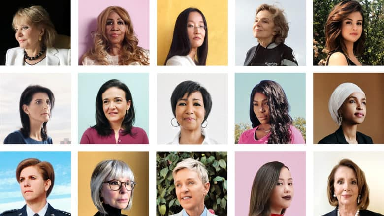 Time featured 46 women changing the world and photographed them using iPhones.