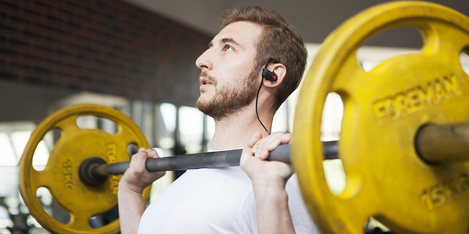 These Bluetooth earbuds are designed to withstand even the toughest workouts.