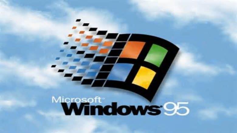 Windows 95 banner