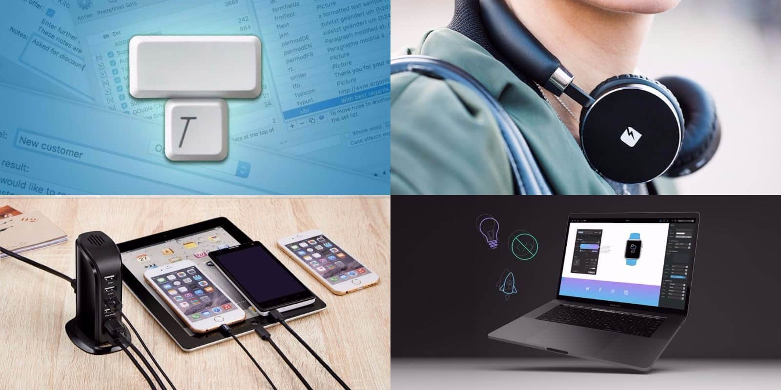 This week's best deals include a keystroke-saving tool, a sleek charging hub, and lots more.