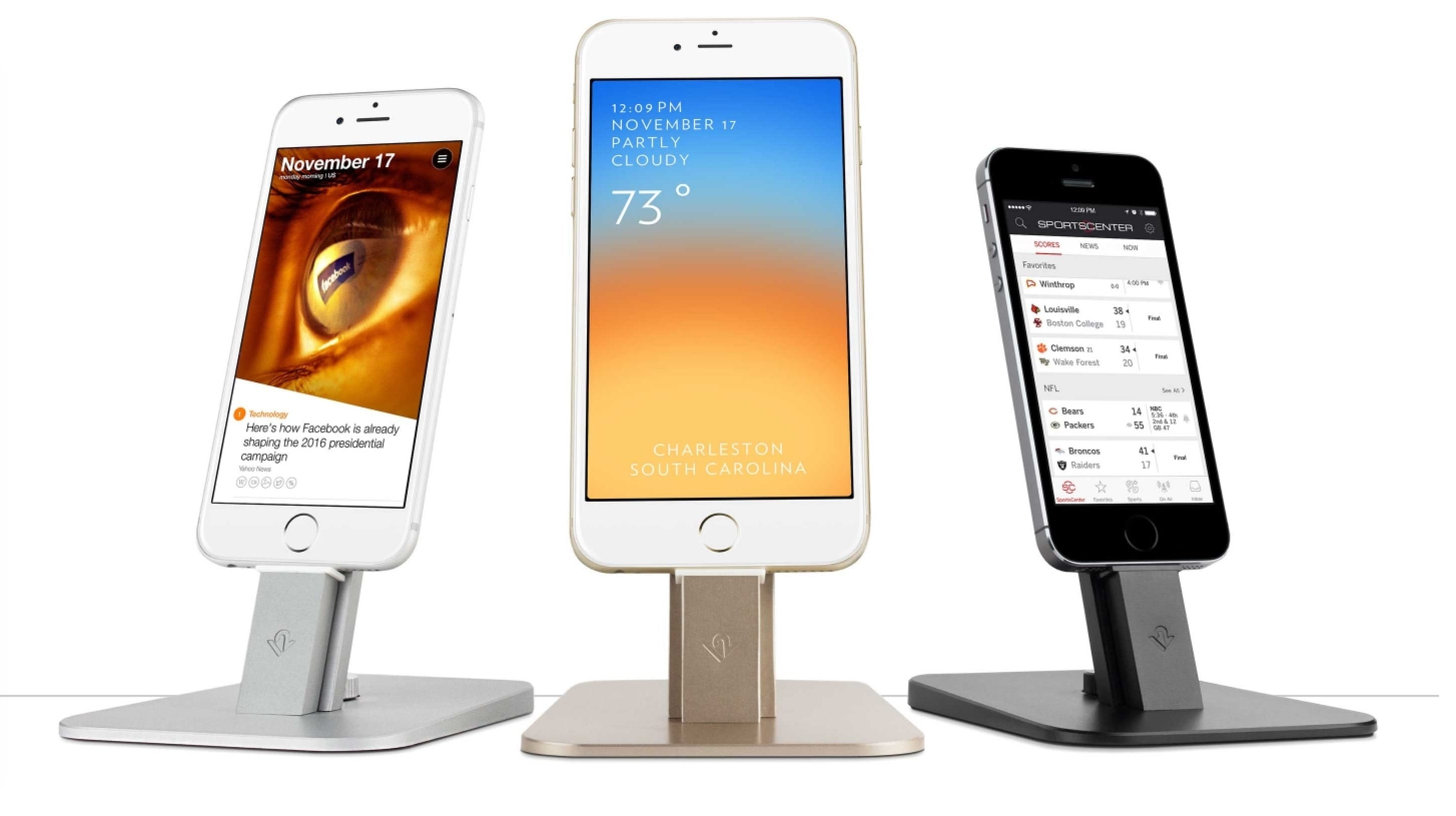 HiRise iPhone dock.