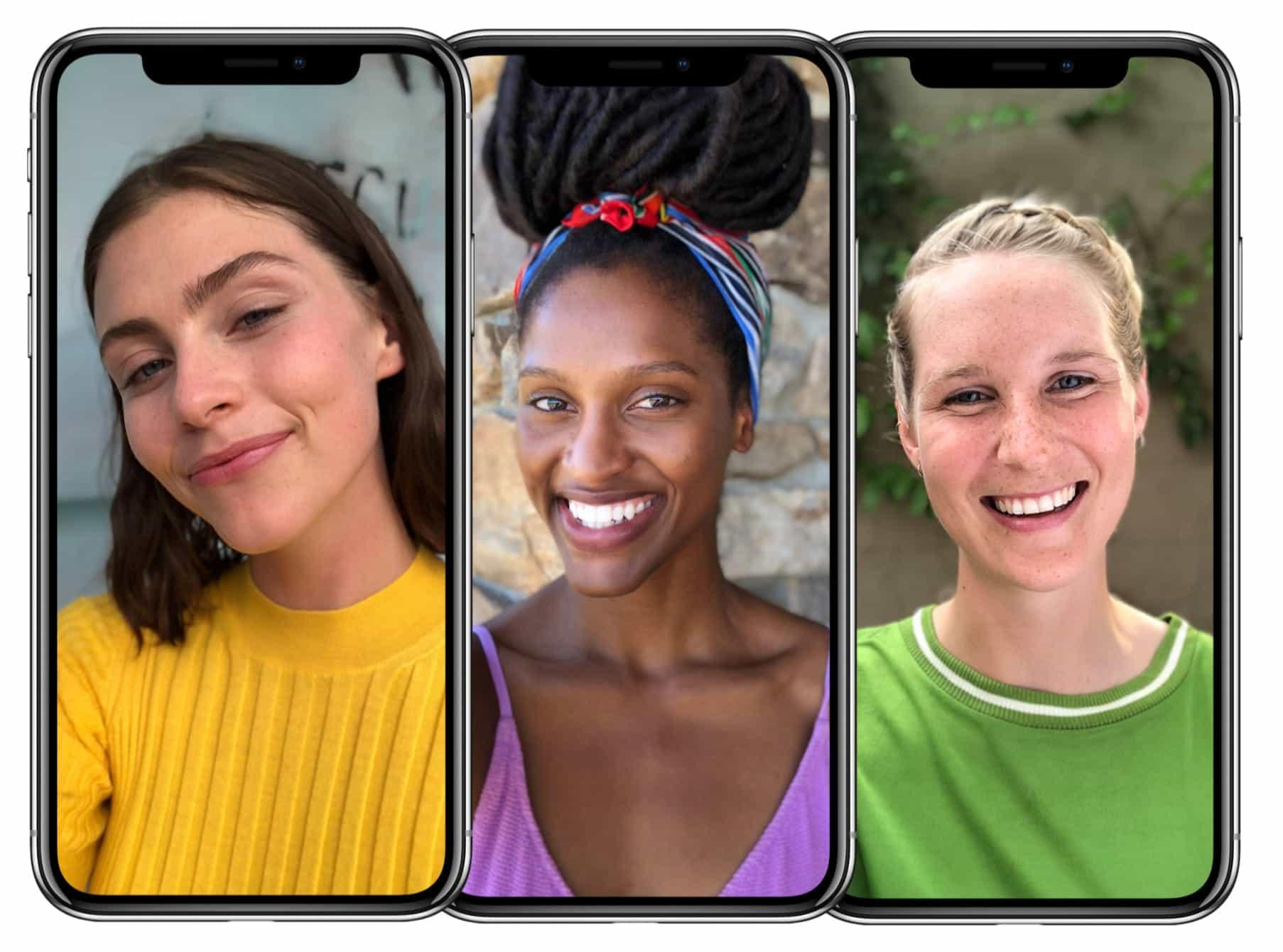 iPhone X Portrait selfies