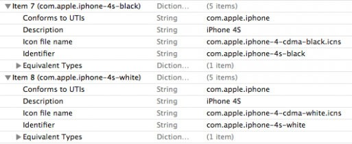 The iPhone 4s name leak appeared in the iTunes beta.