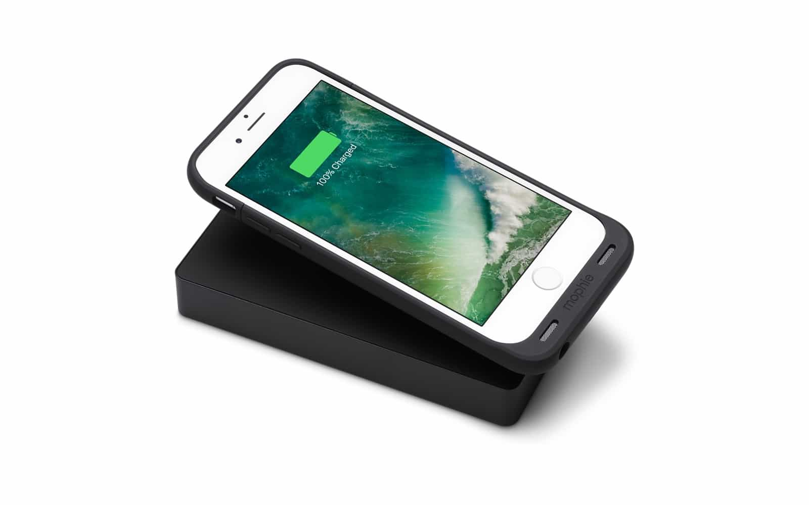 Mophie's Powerstation can also charge 'wirelessly.'