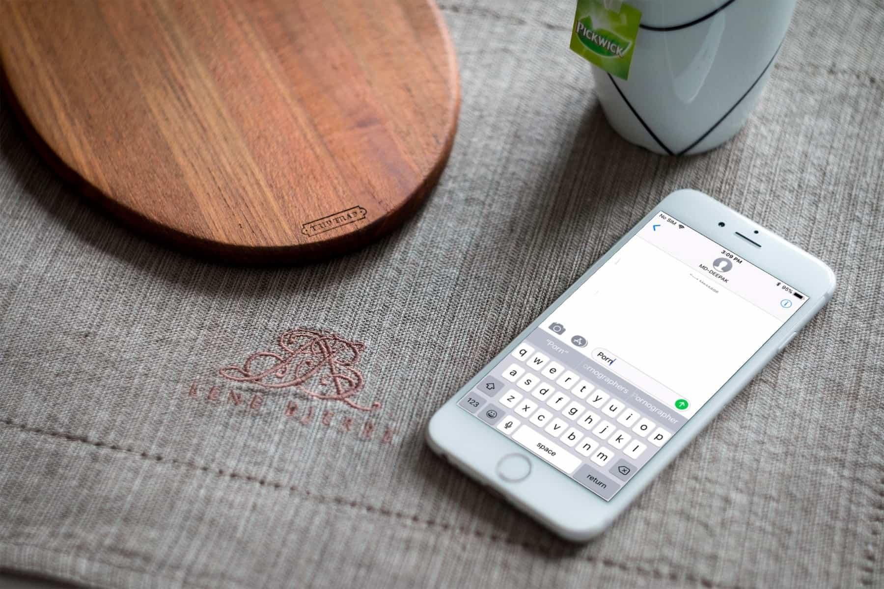 How To Remove Embarrassing Word Suggestions From The Ios Keyboard