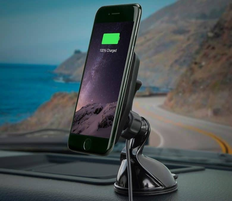cheap for discount fb4a3 cb6ac This magical car mount wirelessly charges iPhone X | Cult of Mac