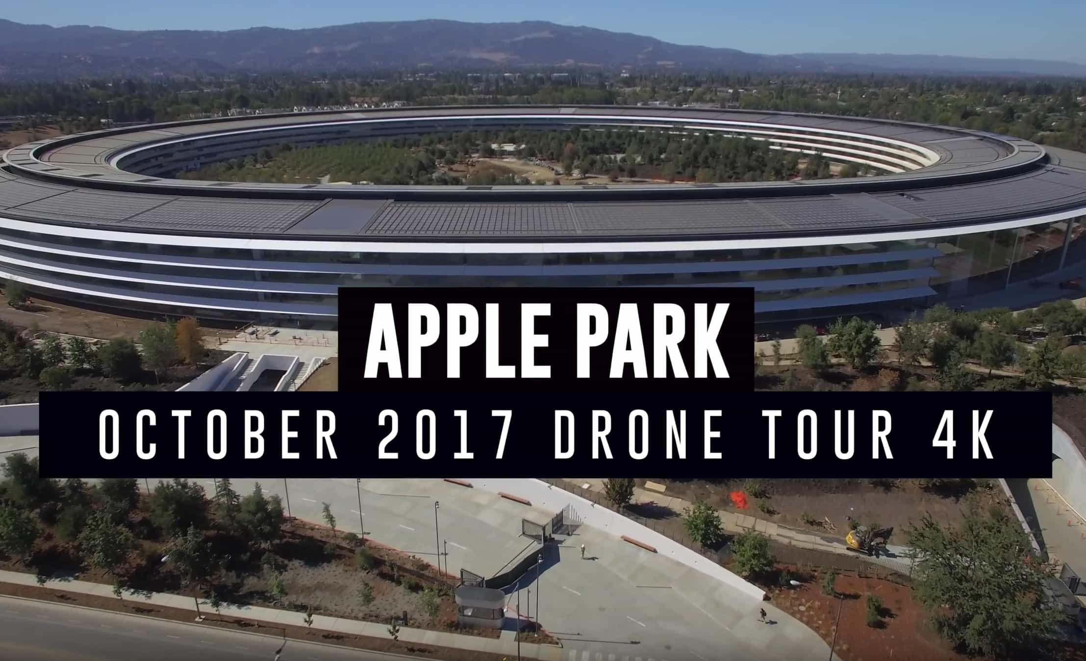 Apple Park flyover