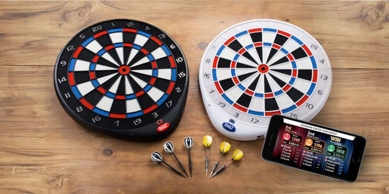 A classic bar game meets the internet of things with this WiFi-connected, camera enabled, social dartboard.