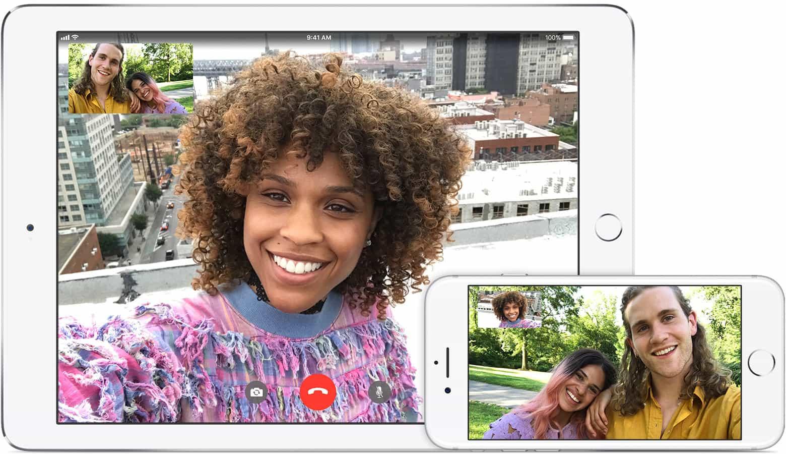 FaceTime iPhone iPad