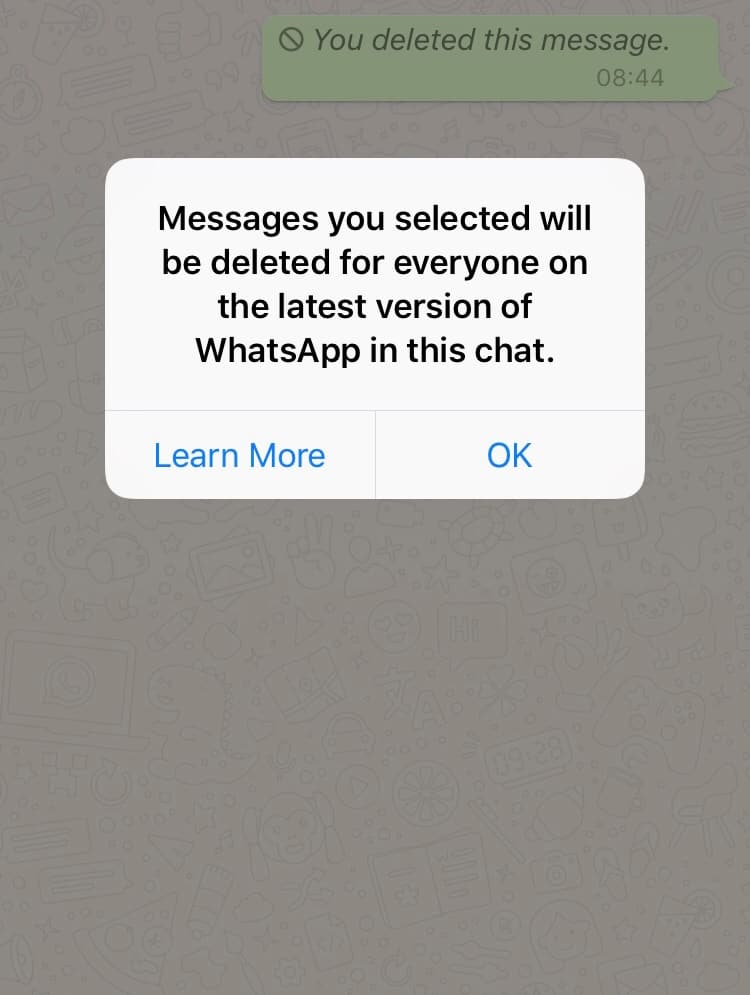 How to delete WhatsApp messages you already sent | Cult of Mac
