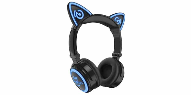 These Mindkoo cat ear headphones are perfect for the kids this holiday season