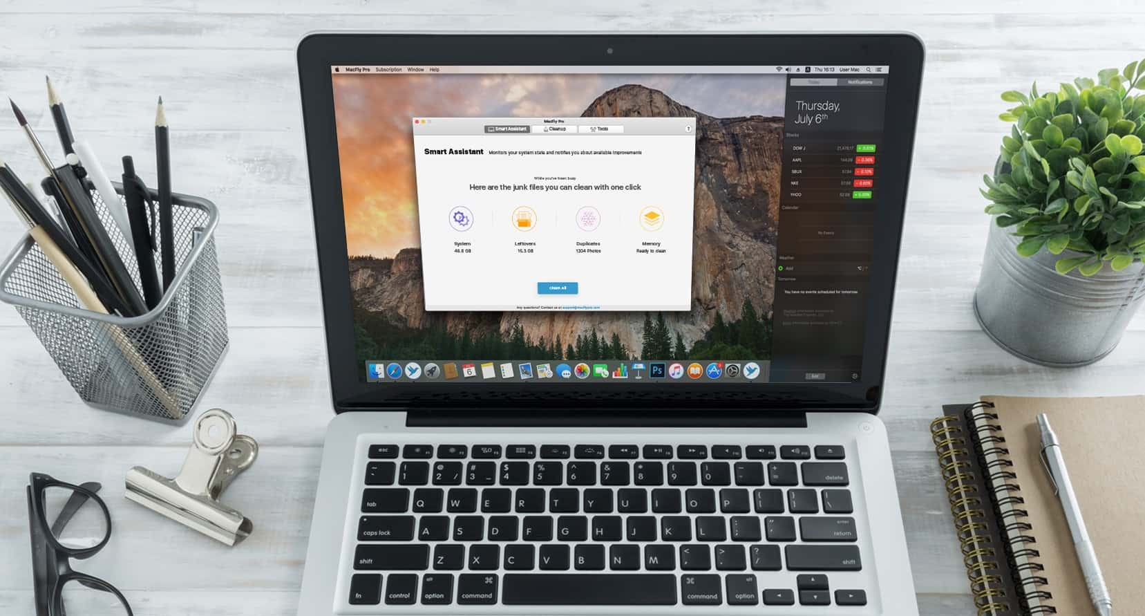Clean up your Mac the easy way with MacFly Pro.