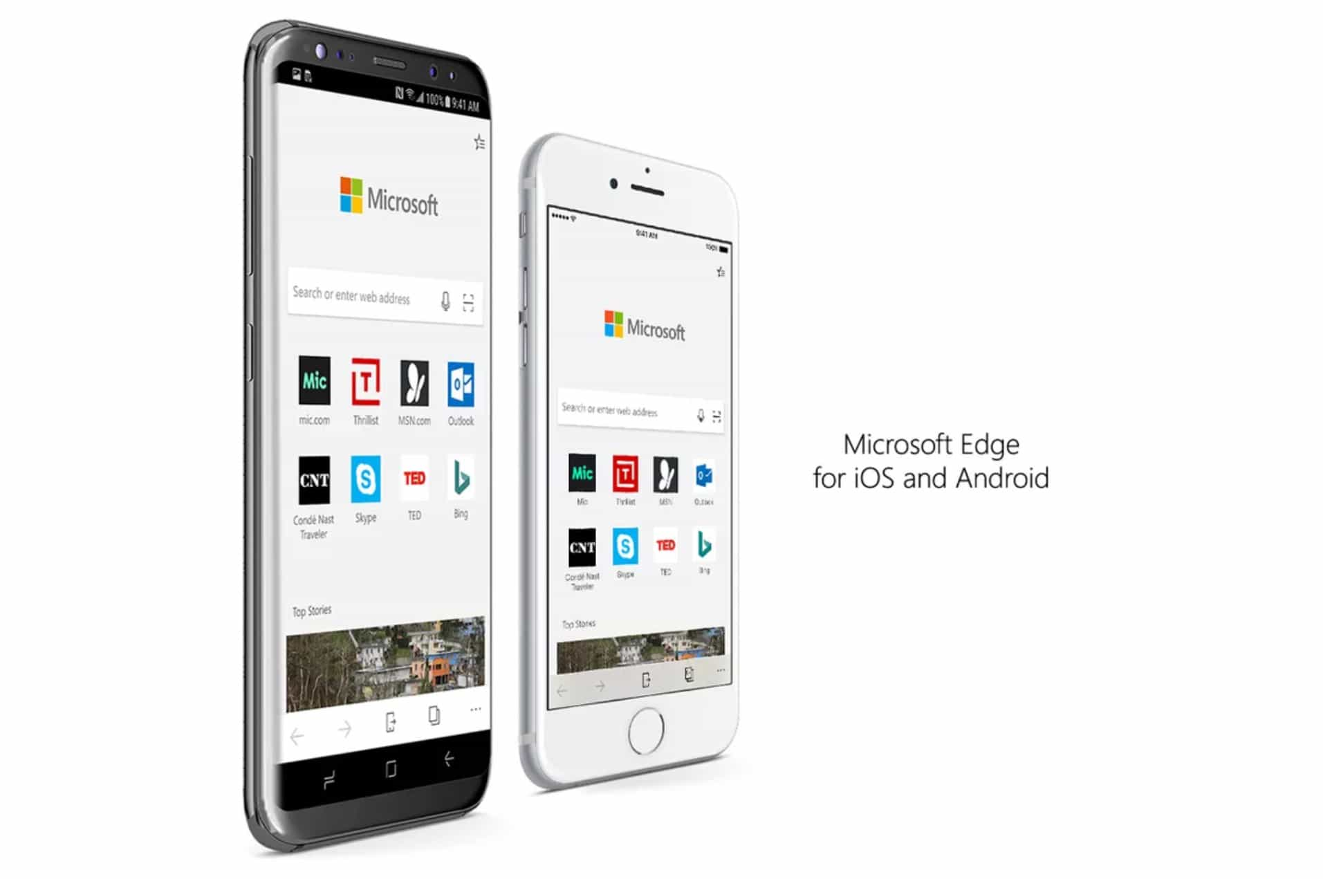 Microsoft Edge for iPhone