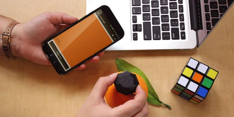 This keychain-sized sensor can tell you the precise color, for liquid and digital paint.