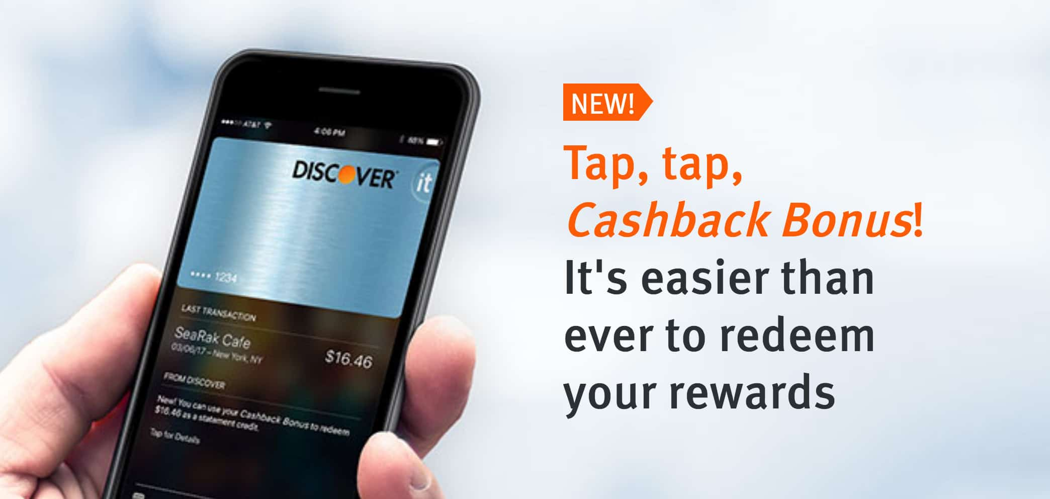 Discover Cashback