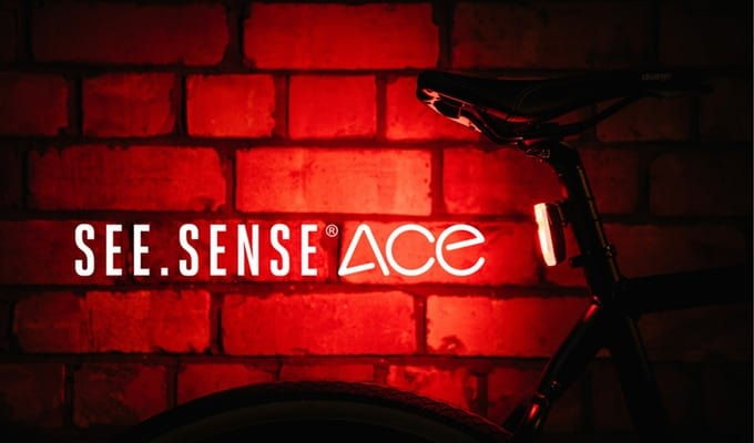 See.Sense Ace bike light